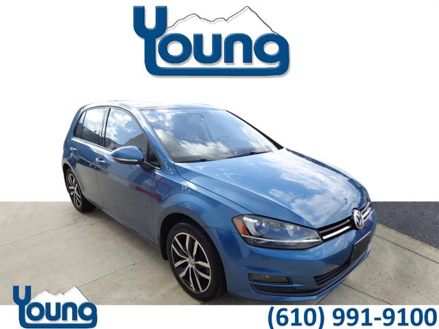 Certified Pre-Owned 2015 Volkswagen Golf 1.8T SE PZEV