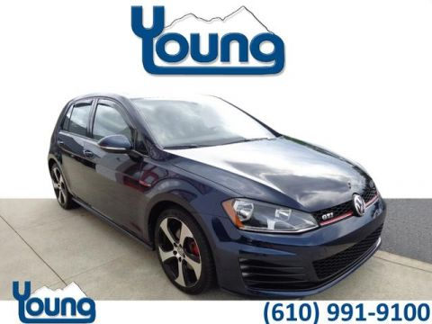 Certified Pre-Owned 2015 Volkswagen Golf GTI SE